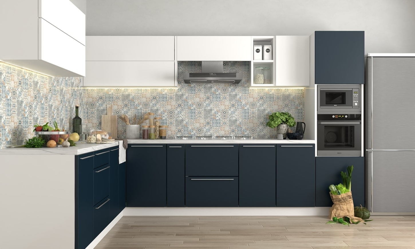 Enhance The Aesthetic Sense Of Your Kitchen With Modular Kitchen Manufacturers Dea5